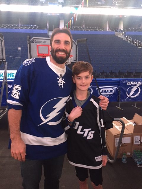 Tampa bay lightning family carnival